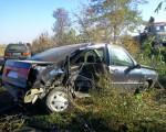 Accident la ieşirea din Suceava spre Rădăuţi