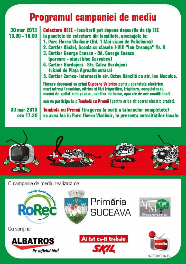 Flyer Cupon Tombola Suceava