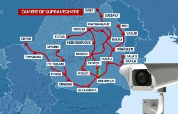 Harta Camerelor Video Din Romania Care Vor Monitoriza Plata