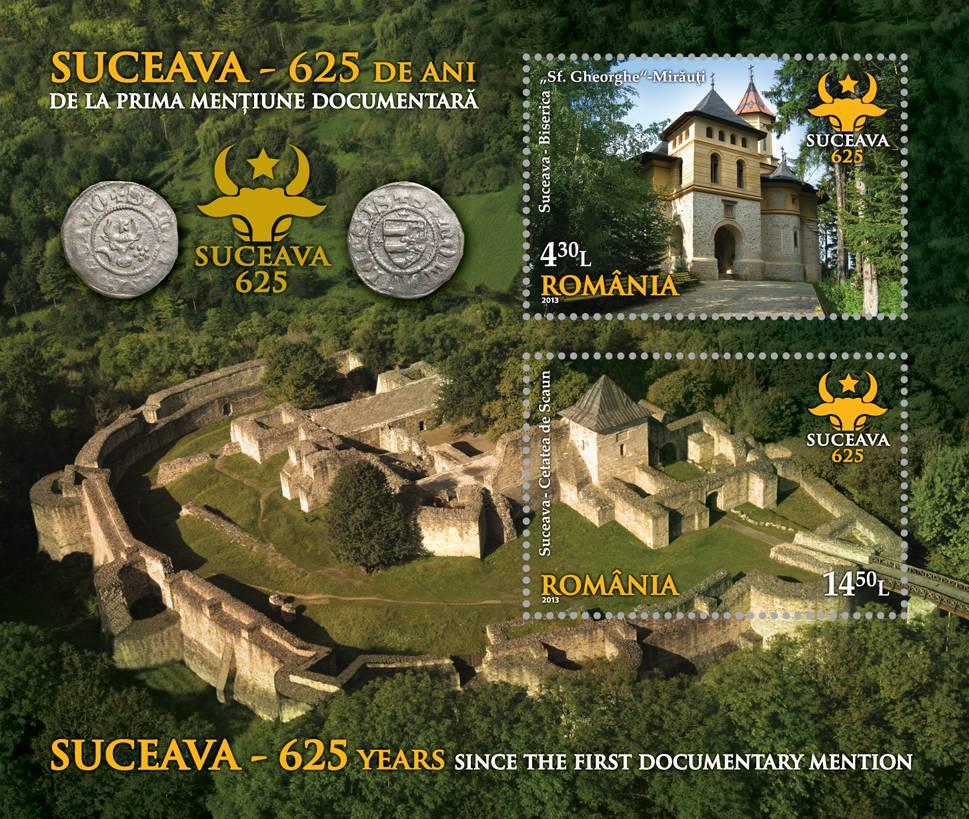 colita 625 ani Moldova__souvenir sheet 625 years Moldavia