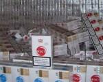 Țigări de contrabandă confiscate la Rădăuți