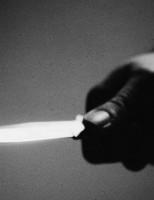Agresor agresat cu un cuțit