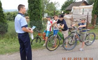 Atenție la circulația cu bicicleta!