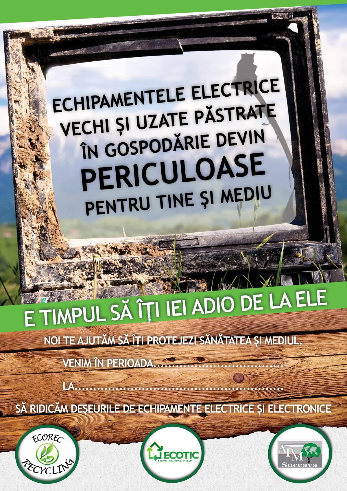 afis campanie colectare DEEE iunie _iulie 2013