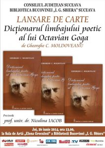 Dicționarul Limbajului Poetic al lui Octavian GOGA