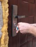 Locuință prădată cu chei potrivite