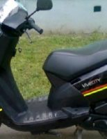 Moped furat din curte