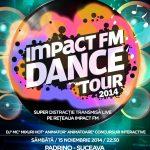 Afis IMPACT DANCE TOUR 2014  SUCEAVA