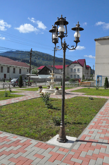 Centru Civic Ostra, amenajat