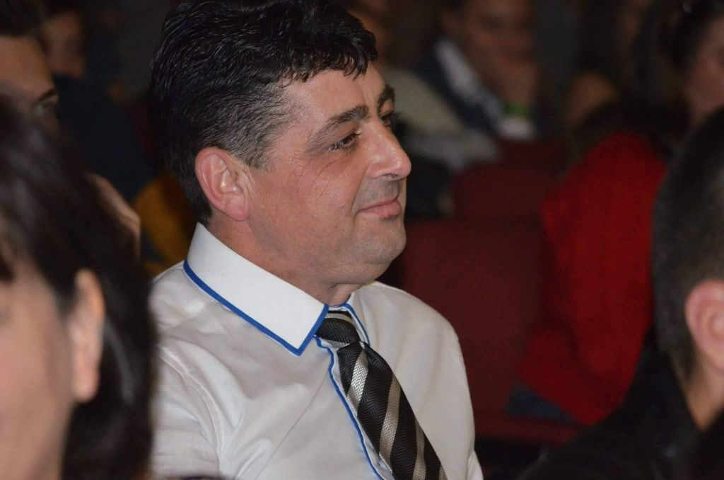 Dorin Rusu, primarul comunei Crucea