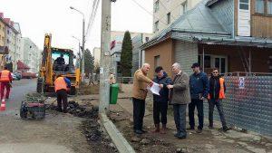 Au început lucrările de reabilitare a străzii Jean Bart