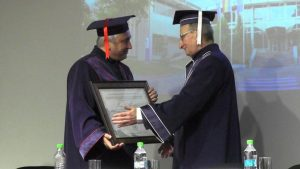 Doctor Honoris Causa acordat academicianului Mircea Martin