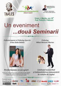 Seminarii de psihologie la Fălticeni