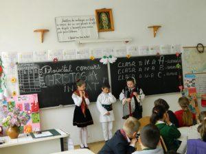 3. Concurs tematic HRISTOS A ÎNVIAT !  - clasele a IV-a A, B și C