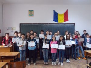 Concursul s-a adresat elevilor cu înclinaţii deosebite spre matematică, din mediul rural