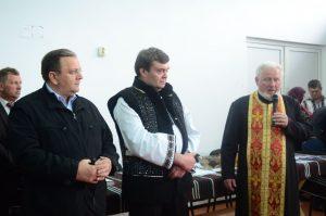Festivalul a debutat cu binecuvântarea preotului paroh