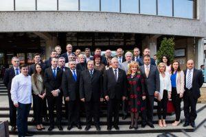 Ion Lungu alături de candidații pentru Consiliul Local