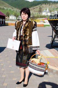Maria Ciocan, una dintre câștigătoarele premiului întâi