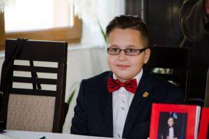 Octavian Gherasim, cel mai tânăr scriitor din România