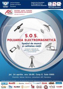 SOS Poluarea electromagnetică. Spațiul de muncă și calitatea vieții