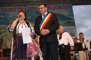Veta Biriș alături de Ioan Bogdan Codreanu