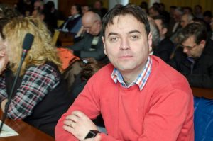 Viluț Mezdrea, primarul comunei Poiana Stampei