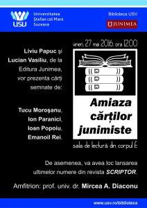 """""""Amiaza cărţilor junimiste"""""""