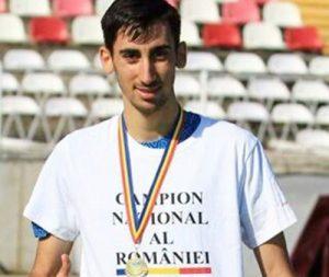 Andrei Gafița, campion național în proba de 10.000 de metri