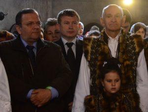 Candidatul PNL, și-a început campania chiar la biserica din comună 2