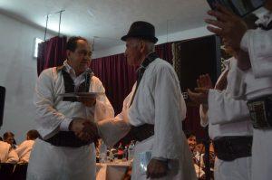 Dorin Cocârță a primit și o diplomă de excelență din partea primarului de aici