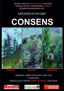 Expozitia de pictura Consens