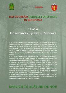 O nouă etapă de împădurire în Bucovina