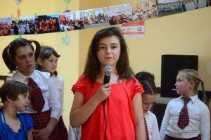 Stephanie Werkmeister, unul dintre elevii tutore
