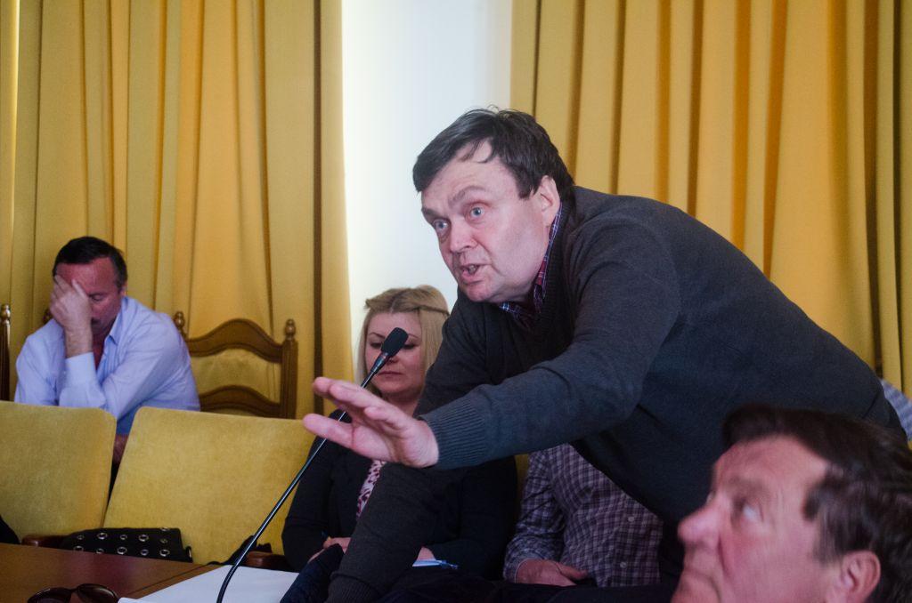 Traian Iliesi, primarul comunei Moldovița