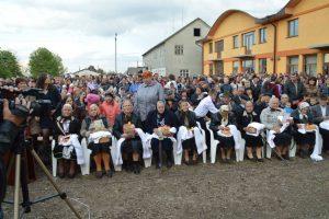 Vizita la Crasna a coincis cu comemorarea prizonierilor români morți în lagărele staliniste