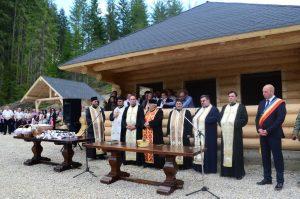 Zona de agrement a fost sfințită de un sobor de preoți