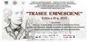 """Trasee Eminesciene"", ediția a III-a"