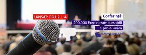 Confeință 200.000 Euro nerambursabili – o șansă unică