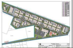 Planul parcului industrial East European Border Siret