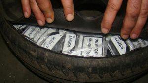 tigari de contrabanda in anvelope (2)