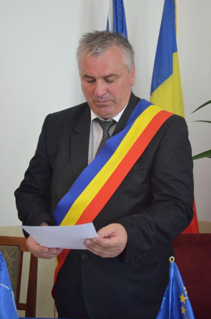 Gheorghe Tomăscu, primarul orașului Cajvana