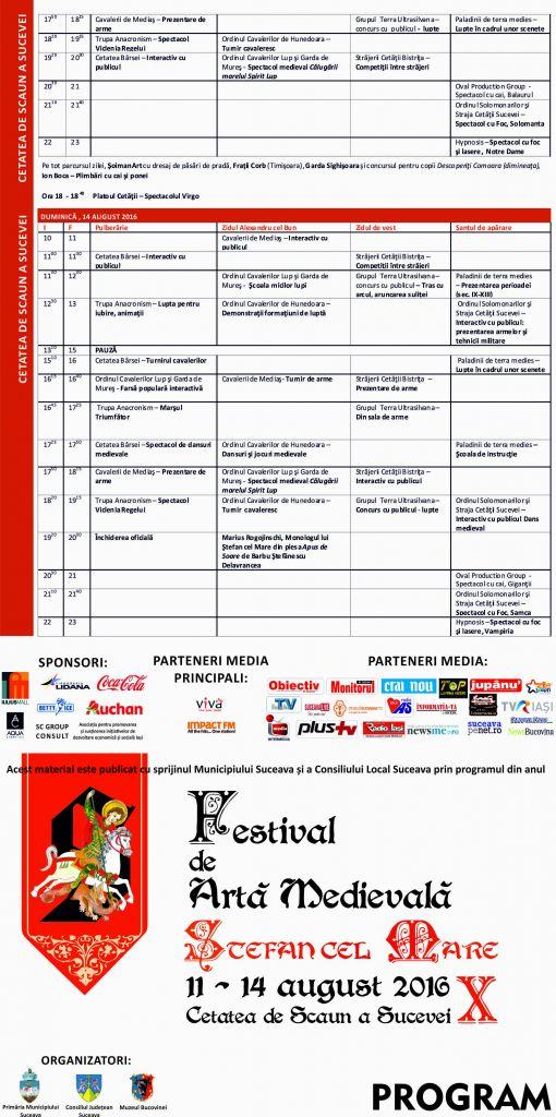 program festival 2