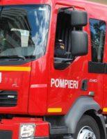 Incendiu la o gospodărie din localitatea Poieni