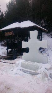 Cruce de gheata Fundu Moldovei