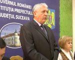 Prefectul Harasim, un incapabil al discursului, încă se află în înalte funcții publice
