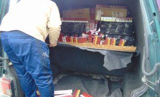 Țigări de contrabandă în valoare de peste 90.000 de lei, confiscate de oamenii legii