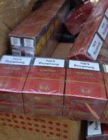 Peste 400 pachete cu țigări ascunse în pragurile unui autoturism,descoperite în P.T.F. Siret