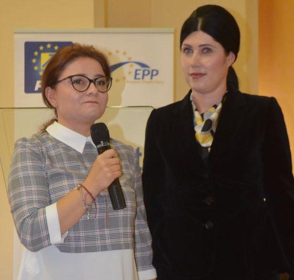 Cristina Trăilă la ședința OFL unde Cătălina Culipei a fost reconfirmată în funcția de președinte