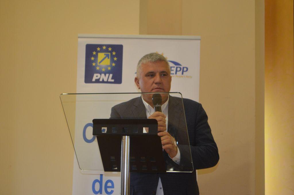 Dumitru Mihalescul la ședința OFL unde Cătălina Culipei a fost reconfirmată în funcția de președinte