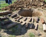 Elemente de muniție din cele două Războaie Mondiale, distruse de pirotehniștii de la ISU Suceava